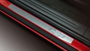 2016-21 ChevyColorado Stainless Steel w/ Bowtie Logo Sill Plates GM NEW 23232341