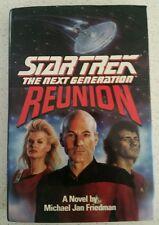 Star Trek Reunion by Michael Jan Friedman  Hardback, 1992 book with Dust Jacket