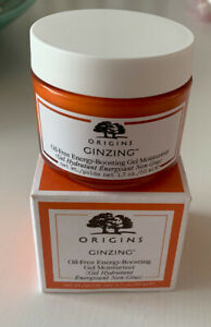 Origins GinZing Oil-Free Energy-Boosting Gel Moisturizer 50ml Cream NIB