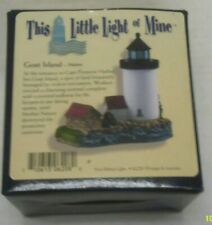 Harbour Lights Lighthouse - Goat Island, Maine, This Little Light of Mine, Nib
