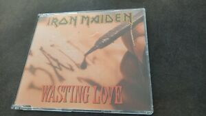 IRON MAIDEN Wasting Love RARE 1992 EMI CD Single 7243 8 80231 2 2 @ 2 1-1-6-NL