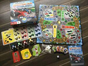 Mega Bloks Race Car Builder Construction Board Game