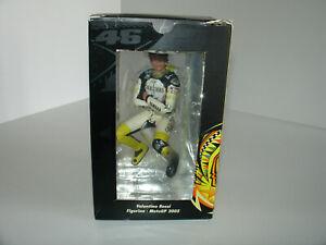 1/12 VALENTINO ROSSI MODIFIED FIGURE MotoGP 2004 GAULOISES YAMAHA by MINICHAMPS