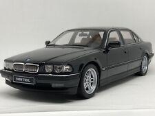 1:18 Otto BMW E38 750iL Schwarz OVP / black with box