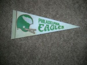 Philadelphia Eagles 1970's mini pennant