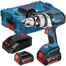 Bosch 18V GSB 18 VE-2-LI Combi Drill with 2 x 4.Ah Batteries & Charger in L-BOXX