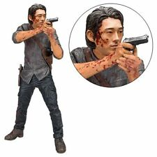 McFarlane Toy NEW * Glenn * 10-Inch Deluxe Action Figure Walking Dead Figurine