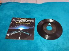 Close Encounters Of The Third Kind Theme Record Vinyl 45Rpm