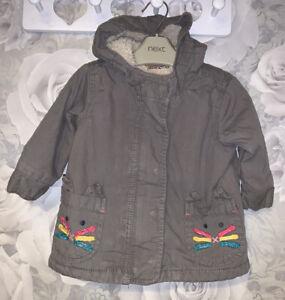 Girls Age 6-9 Months - Next Winter Coat