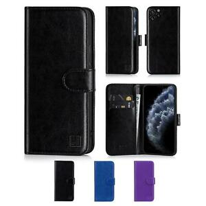 FLIP LEATHER CASE COVER FOR APPLE IPHONE 4 5 SE 6 7 8 XS XR 11 Pro Max SE 2020