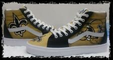 Custom Vans New Orleans Saints size 9.5