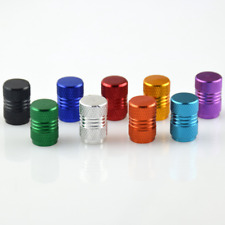 Valve Cap Schrader Auto Car Type in Alloy 2 pack Colours