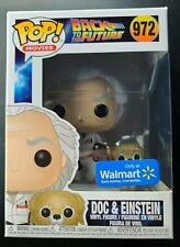 Funko Pop! Movies: Back to the Future Doc and Einstein Walmart Exclusive 972 🔥