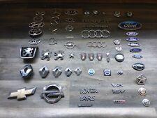 SET!!! ca. 65x Emblem Fahrzeugemblem Ford Mercedes Toyota Peugeot Opel BMW KIA