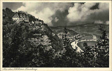 Dornburg Thüringen ~1920/30 Schlösser Schloss Goetheschloss Rokokoschloß Brücke
