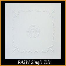 Ceiling Tiles Glue Up Styrofoam 20x20 R43 White lot of 112 pcs 295.68 sq ft