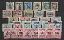 Labuan A Particularly Attractive Range Of Quality Postally Used 19th Century(R81