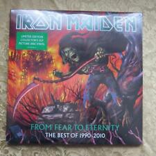 Iron Maiden-From Fear to Eternity Triple picture disc vinyl set with gatefold