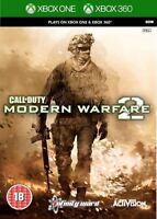 Call of Duty Modern Warfare 2 II Xbox 360 Xbox One New and Sealed