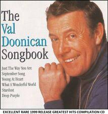 Val Doonican The Very Best Greatest Hits Collection RARE CD Irish Easy Listening