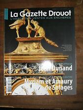 La Gazette Drouot N°32 2011 1132 Jean Dunand De Solages Niche Lesage Clouet