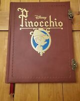 NEW Walt Disney's Pinocchio Storybook Replica Journal Notebook Book From Movie!