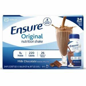 Ensure Oral Supplement Chocolate Flavor 1 Each; 8 Oz