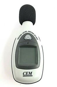CEM DT-85C Sound Level Noise Meter, Tested & Working