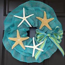 """21"""" Wonderful Unique Handmade seastar Wreath - Seastar"""