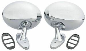 NEW 1970-1972 Cutlass 442 & 1968-1970 Toronado Chrome Side View Mirror - Pair