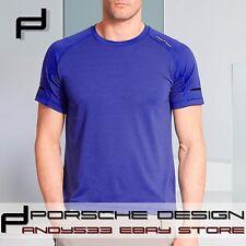 $135 Porsche Design Sport adidas Men BS T-Shirt X-STATIC® 99.9% Pure Silver  S