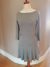COAST Jasone Knit Dress Grey Melan UK Size 16 BNWT