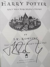 J.K. Rowling Signed 1st Ed. Harry Potter Autograph Book Mint Cond. JSA LOA NR!