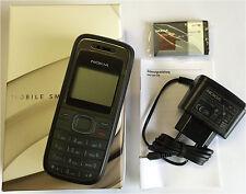 Nokia 1208 - Rot / Schwarz / Blau  (Ohne Simlock) Handy (wie Nokia 1200 )  NEU