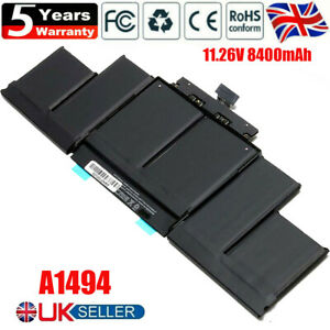 """Genuine OEM Battery A1494 For MacBook Pro 15"""" Retina A1398 Late 2013 Mid 2014 A+"""