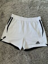 Adidas White Shorts Size 6