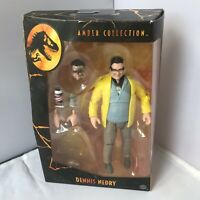 """Jurassic Park Dennis Nedry Amber Collection Toy Action Figure 6"""" Jurassic World"""