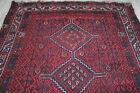 antique tapis persan Persian rug tribal Lori Luri 255 x 182 cm