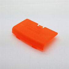 Transparent Orange Battery Cover GBA Cover For Gameboy Advance GBA