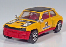 "Corgi Renault 5 Turbo #9 Elf Rally Car 2.75"" Die Cast Scale Model Yellow"