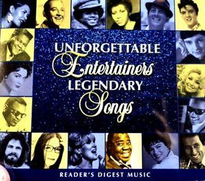 Reader's Digest - Unforgettable Entertainers, Legendary Songs, 4CD Set  - CD, VG