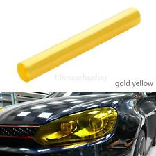 30 X 120cm Yellow Tinting Film Fog Tail Lights Headlights Tint Car Van Wrap