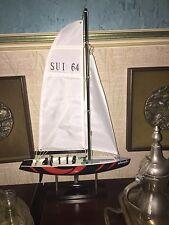 Collezione - Modellino Barca a Vela Alinghi - american's cup - Idea Regalo