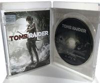 Tomb Raider (Sony, Playstation 3 2013) PS3 Video Game Lara Croft w/Manual