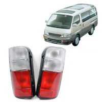 Clear Style Tail Light For 1989 - 2004 Toyota HIACE LH112-125 RZH 101-104 - Pair