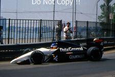 Philippe Streiff Tyrell DG016 Detroit Grand Prix 1987 Photograph 2