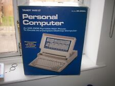 RARE-PERSONAL COMPUTER TANDY 1400 LT-ONLY BOX