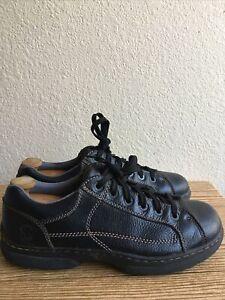 Dr Martens Vintage Men's Black  Leather Oxfords Shoes AW004  SZ US 11M Pre-Owned
