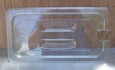 Restaurant Equipment Bar Supplies CAMBRO 30CWCHN THIRD SIZE CLEAR PAN COVER SLOT