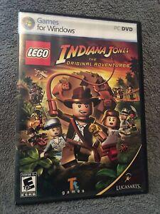PC DVD Lego Indiana Jones The Original Adventures Tt Games For Windows